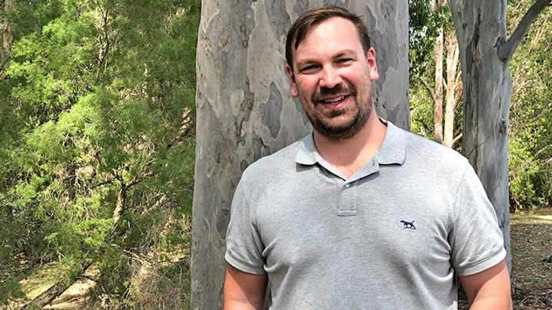 Forest science graduate Andrew Egan