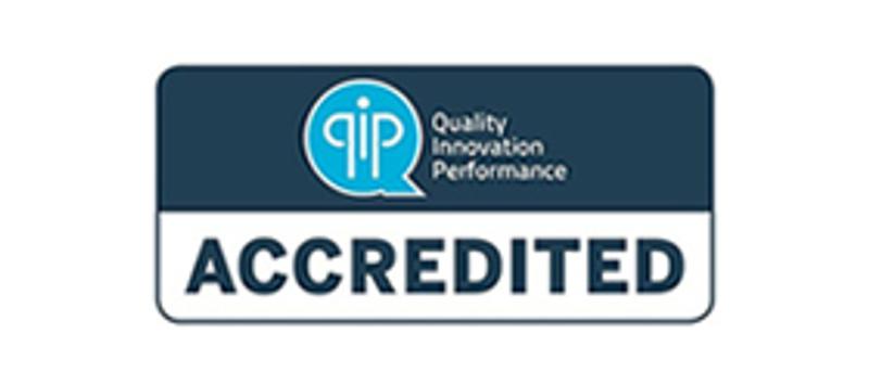 QIP Community Accredited logo