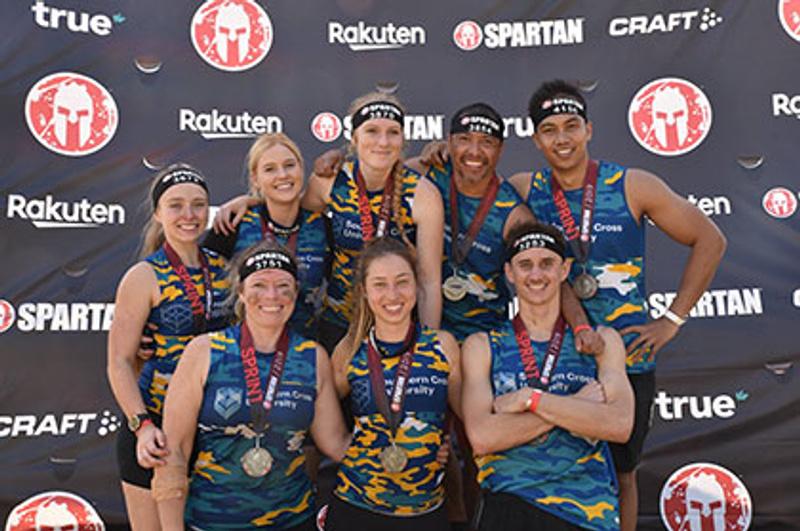 Team SCU at Spartan Sprint Challenge