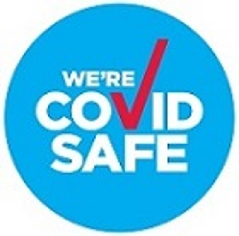An image of the COVID Safe Business badge