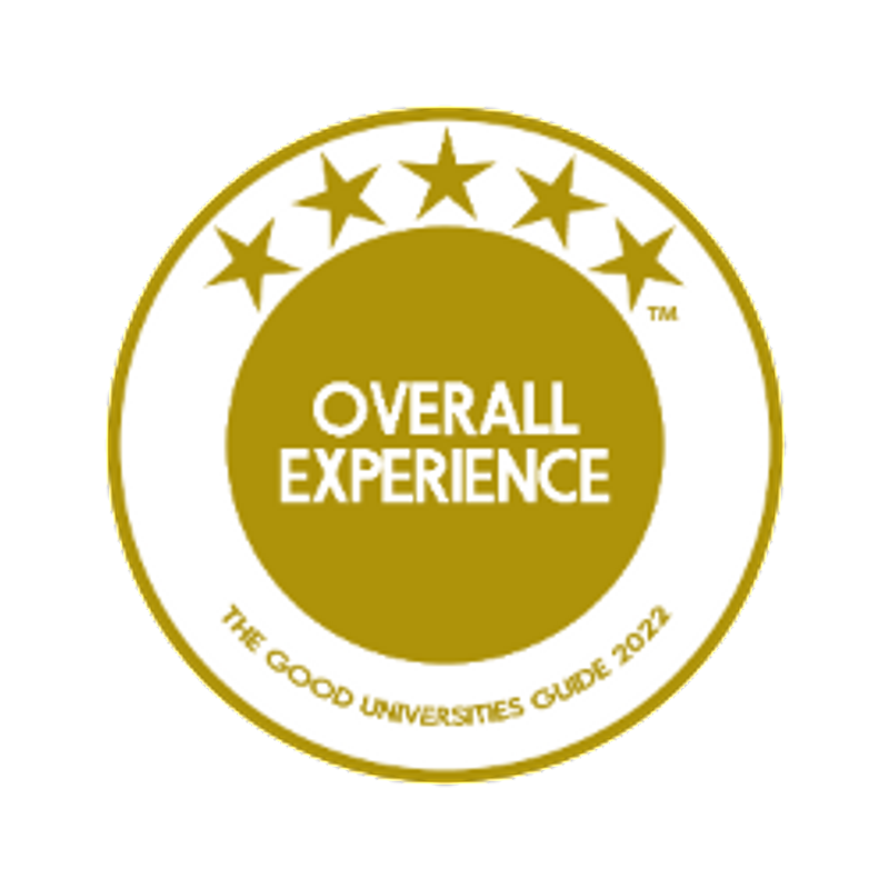 Good Universities Guide 5-star Overall Experience logo