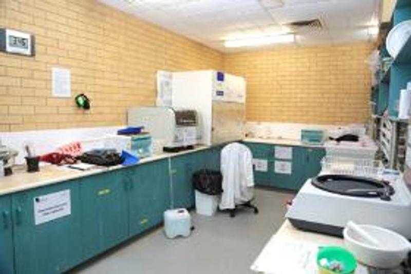 A scientific laboratory