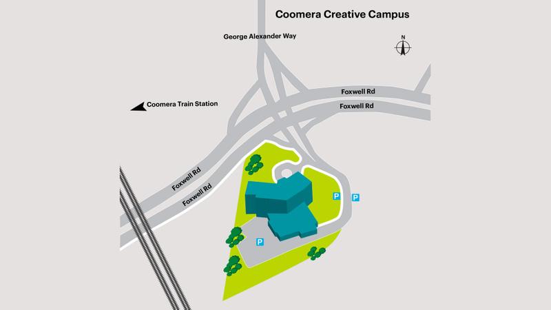 Coomera campus map